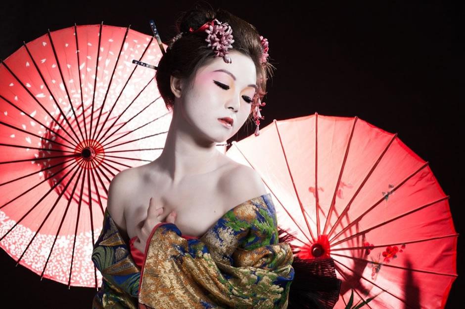 Geisha mantis by zoe